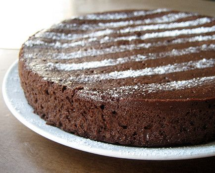 无粉巧克力蛋糕