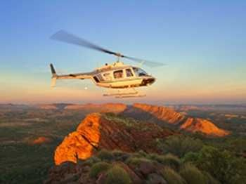 Helicopter ride over Alice Springs Excursions in Alice Springs, NT