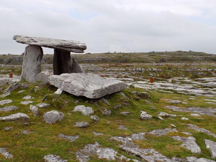 Poulnabrone dolmen in the Burren area