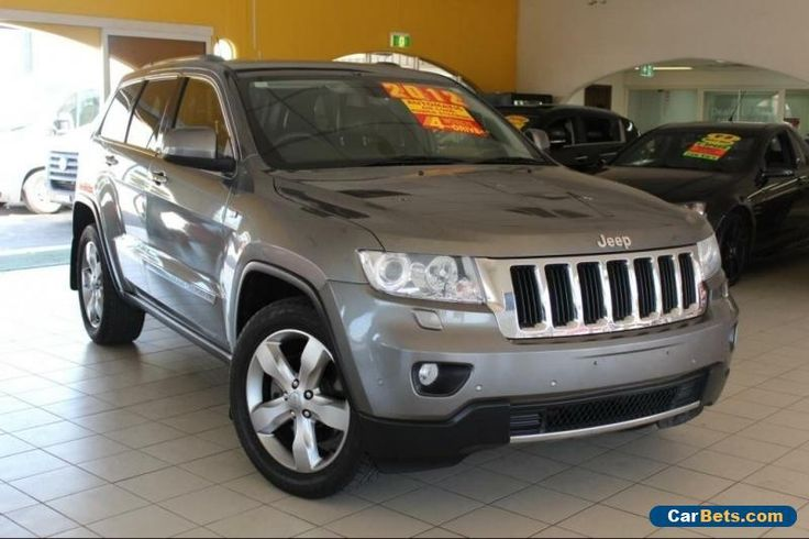 2012 Jeep Grand Cherokee MY2011 WK Grey Automatic A Wagon #jeep #grandcherokee #forsale #australia