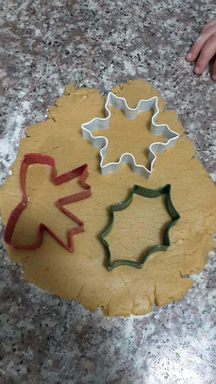 Galletas navideñas gluten free