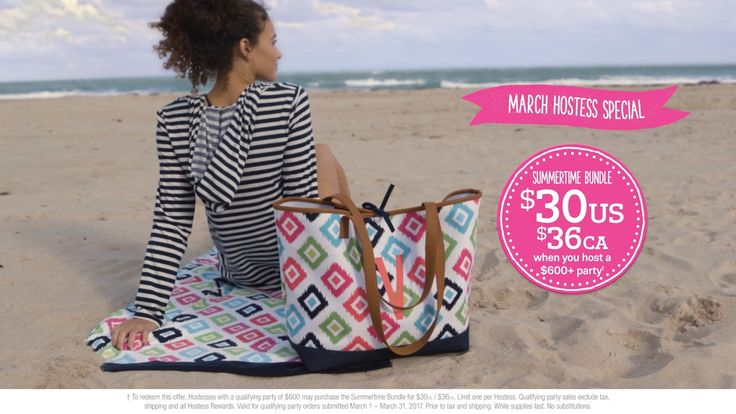 Thirty-One Gifts March 2017 Hostess Special - YouTube