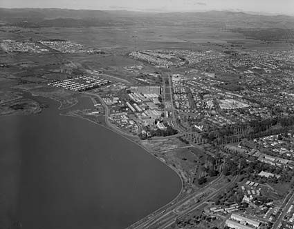 Cities and towns - Canberra - Industrial areas of Fyshwick, Kingston, Braddon and Dickson, Canberra - 24.7.1968