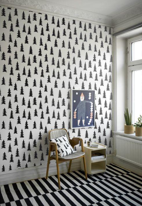 Trees wallpaper / Fine Little Day