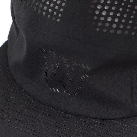 White Mountaineering WM x Flexfit Delta Seamless Jet Cap Black