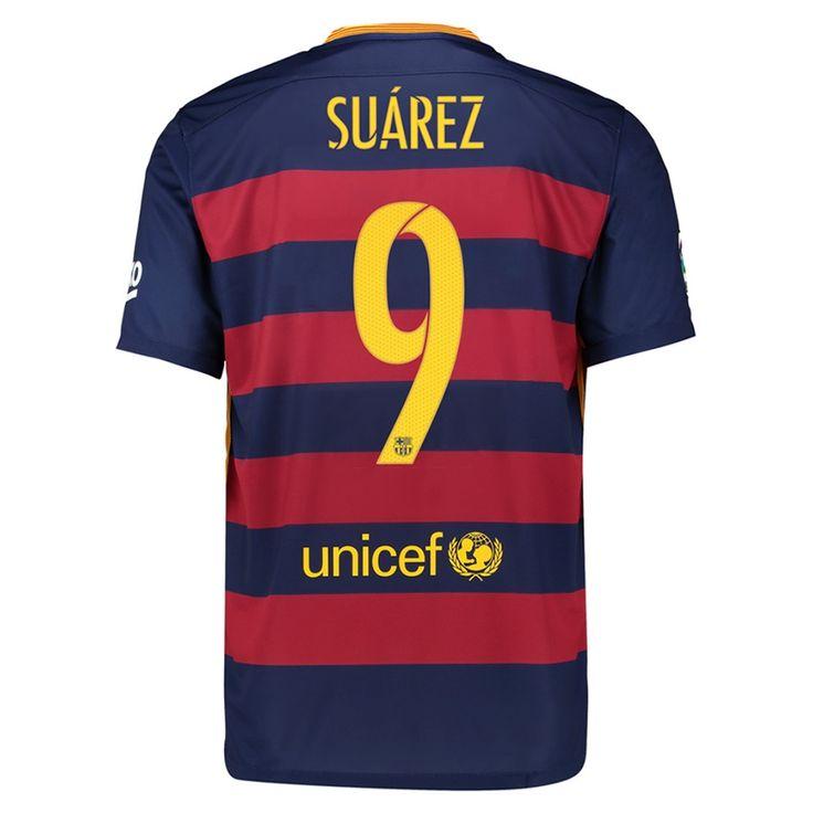 ... luis suárez Barcelona Home Jersey with Suarez 9 - Size Medium ... f11959ecaeccd