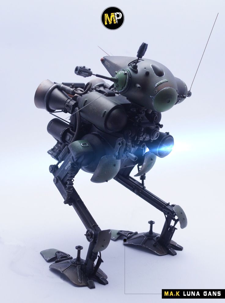 Ma.K SF3D LUNA GANS Maschinen Krieger 1/20