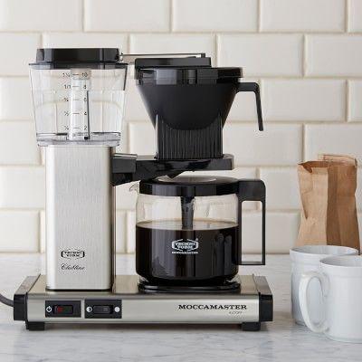 Technivorm Moccamaster 10-Cup Glass Coffee Maker #williamssonoma