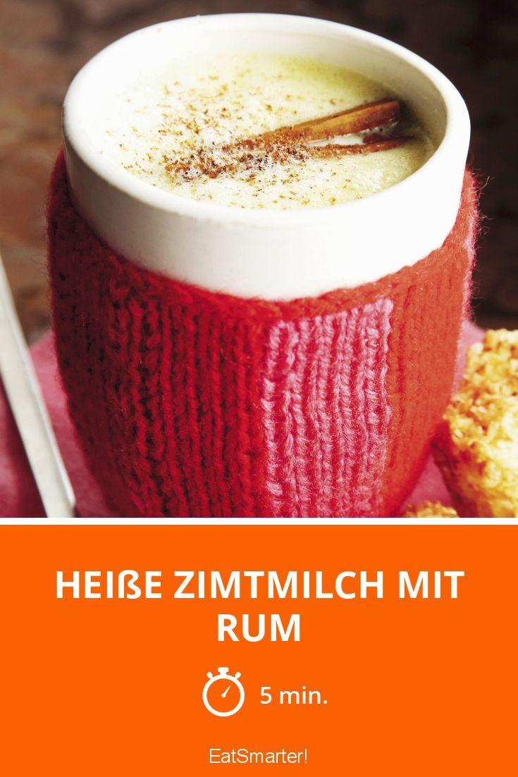 Heiße Zimtmilch mit Rum | http://eatsmarter.de/rezepte/heisse-zimtmilch-mit-rum