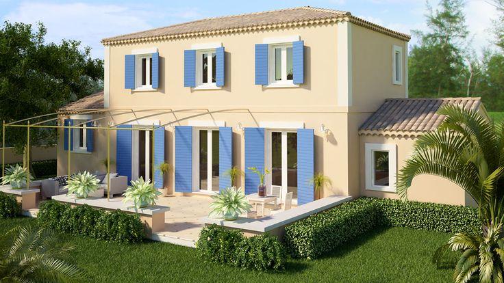 villa provencale pinterest house. Black Bedroom Furniture Sets. Home Design Ideas