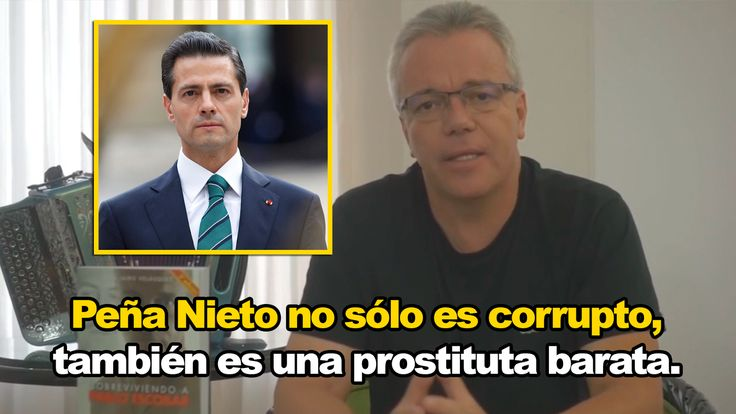 """Ex-sicario de Pablo Escobar, envía fuerte mensaje a Enrique Peña Nieto. """"Es una prostituta barata"""". - Somos Anonymous"""