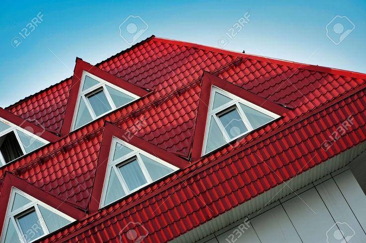 Resultado de imagen para techo rojo