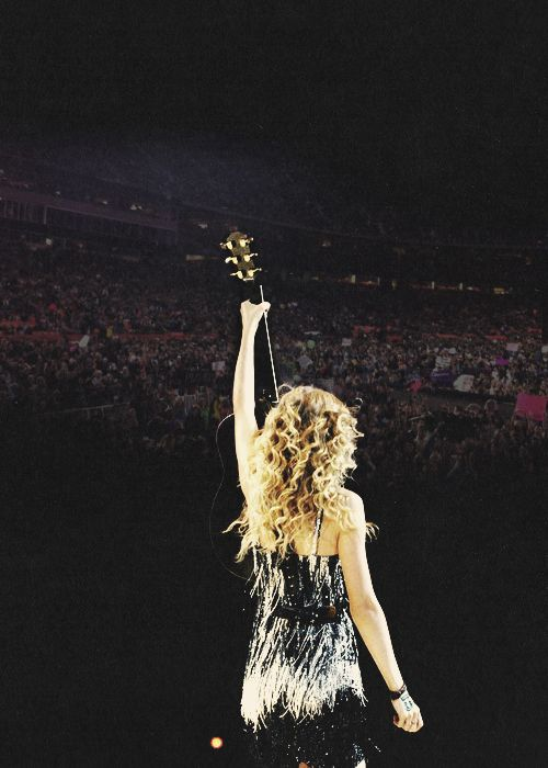 """You are the best thing that's ever happened to me, you are the reason for this tour, this show, and these memories. I hope you remember it as well as I do.""-Taylor<3"