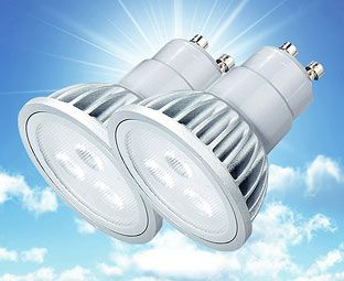 Expert Verdict LED Spot Bulbs, Dimmable, GU10 (2) An energy-saving alternative to traditional ceiling spots, these downlighters are fitted with LEDs which should last 30,000 hours. That's 30 times longer than an equivalent incandescent bulb – about 2 http://www.MightGet.com/january-2017-11/expert-verdict-led-spot-bulbs-dimmable-gu10-2-.asp