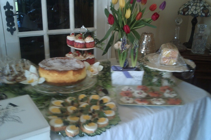 French and English tea party
