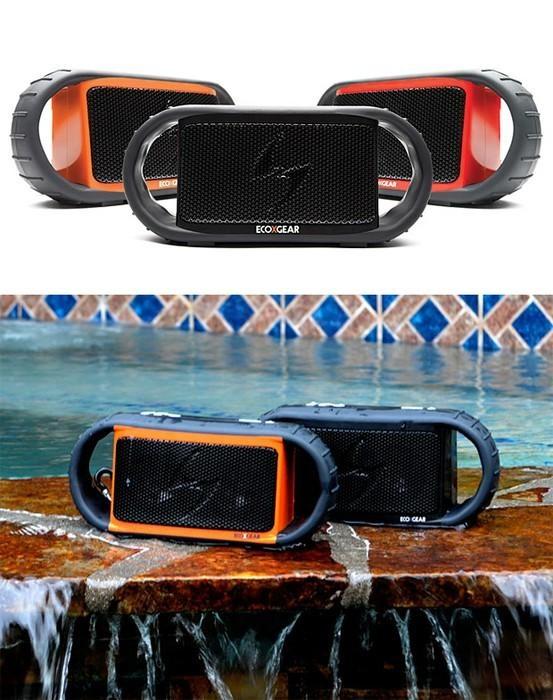 Ecoxgear ecoxbt waterproof wireless speaker ecoxgear - Waterproof speakers for swimming pools ...