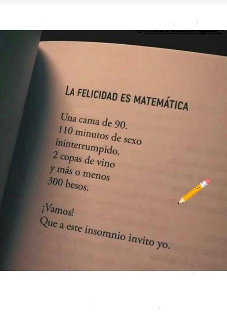 La felicidad es matemática