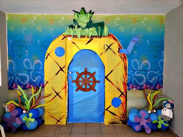 fiesta cumpleaos bob esponja decoracin e ideas para celebrar tu da debajo del mar