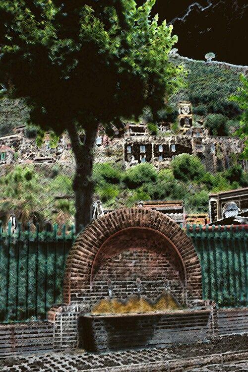 Dipinto tre fontane Sarno