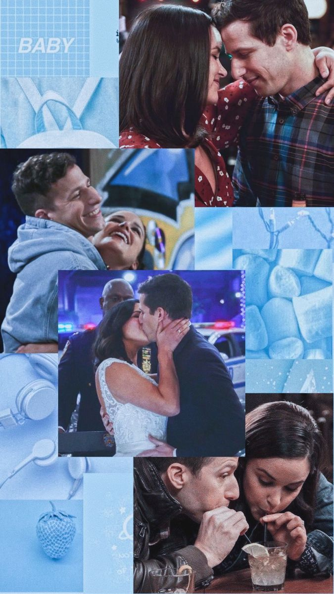 Jake Peralta E Amy Santiago Asthetic Wallpaper Brooklin Nine Nine Series E Filmes Filmes Fotos