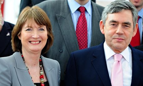 Harriet Harman savages Gordon Brown over sexism and inequality   Politics   The Guardian          Harriet Harman and Gordon Brown in 2010.  Photograph: Rui Vieira/PA