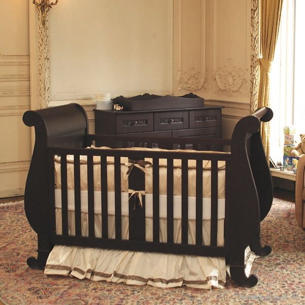 I would love this crib in white or gray