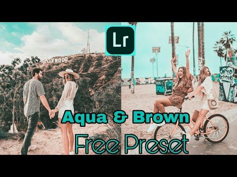 Free Aqua & Brown Preset For Lightroom Mobile | Aqua & Brown