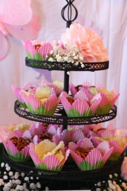 Treats at a Fairy Party #fairy #partytreats