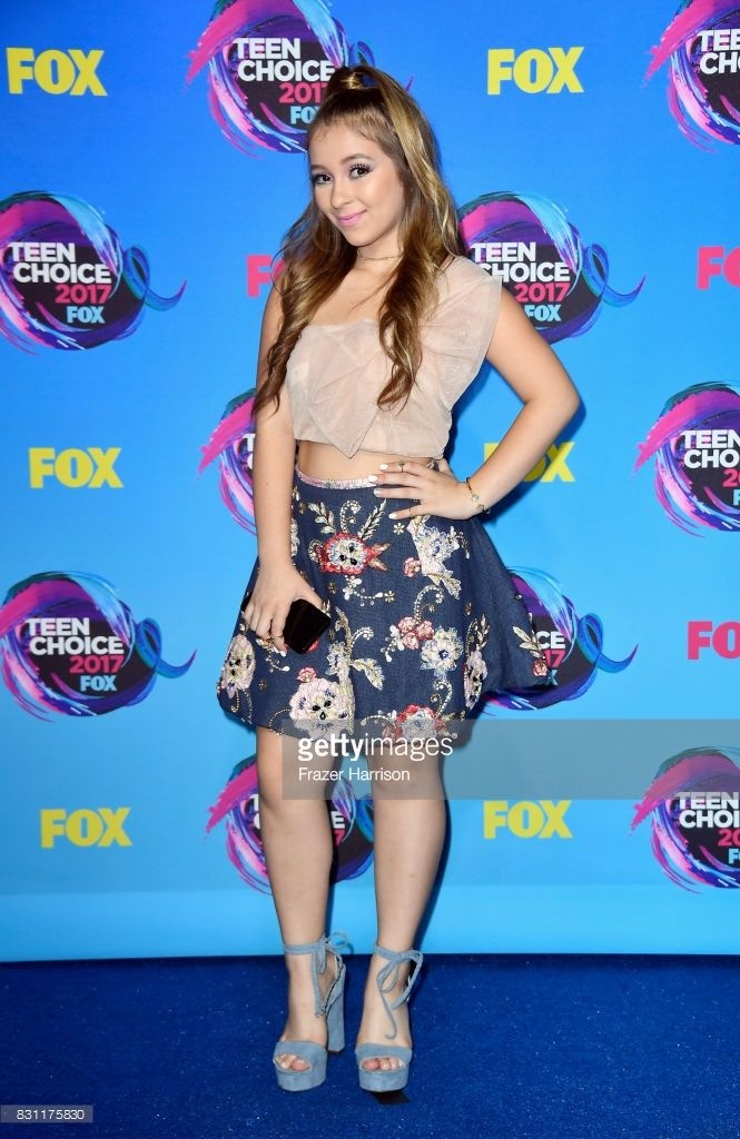 Danielle Cohn poses in the press room during the Teen Choice Awards 2017 at Galen Center on August 13, 2017 in Los Angeles, California.