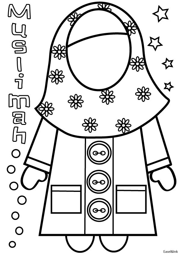 hajj coloring pages - photo #36