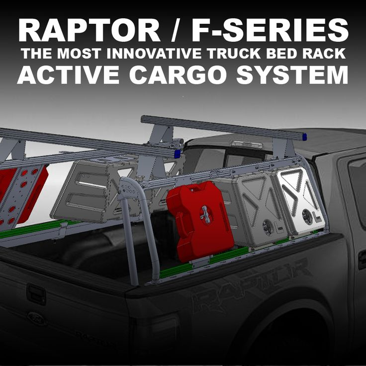Leitner Designs Active Cargo System Truck Bed Rack Ford F-Series / Raptor