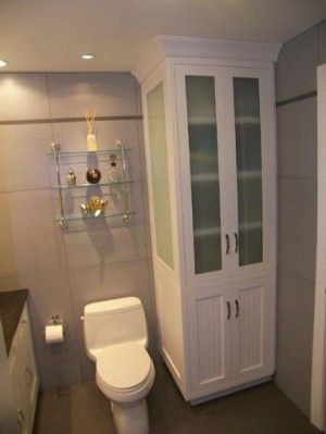 small bathroom storage cabinets - Bing Images