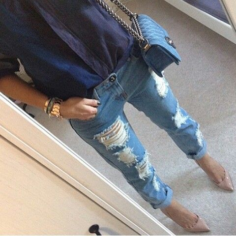 Riped jeans @petra___xx