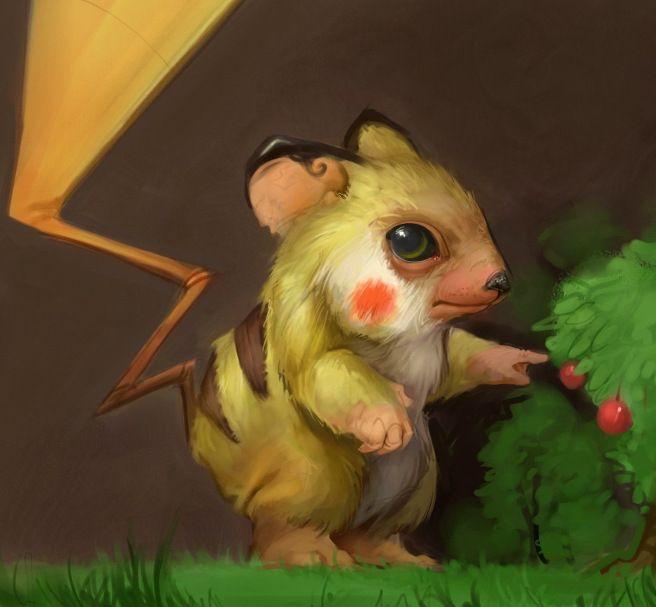 Pikachu by Gavin Mackey