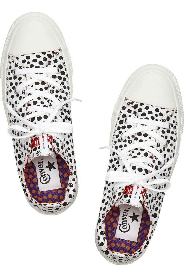 CONVERSE  Marimekko dotted canvas sneakers