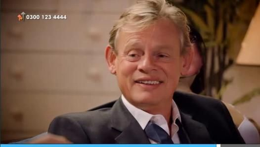 Stand Up To Cancer -Martin Clunes and Neil Morrissey