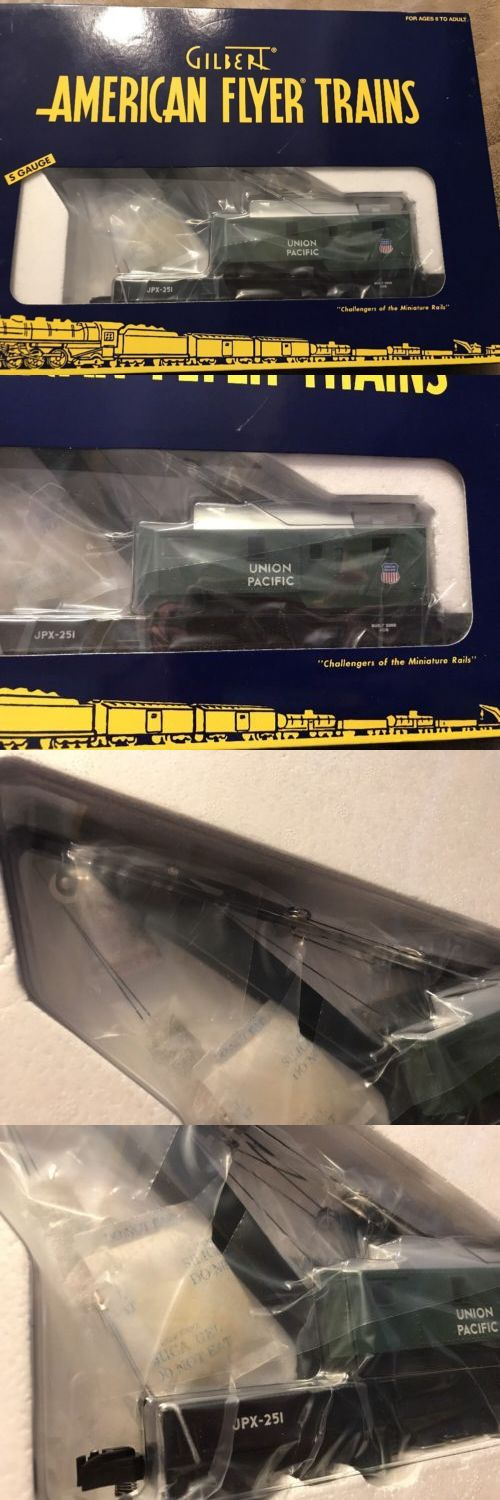Freight Cars 180286: American Flyer 6 - 49021 Union Pacific Crane Car Nib - S Gauge -> BUY IT NOW ONLY: $75.99 on eBay!