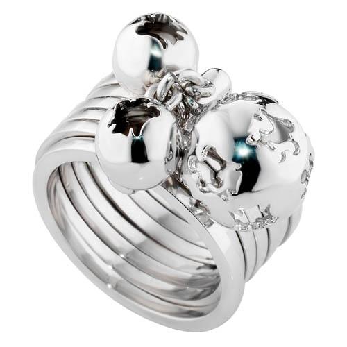 """Silver """"Chiama Angeli"""" Ring - www.kairosjewellery.co.uk"""