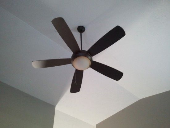 While You Re Up High Make Sure Your Ceiling Fan Is