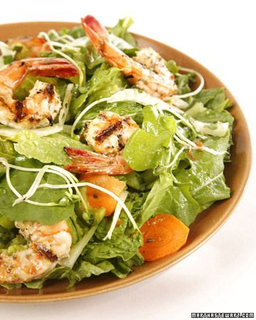 Healthy Main Dishes  Lemon-Rosemary Grilled Shrimp