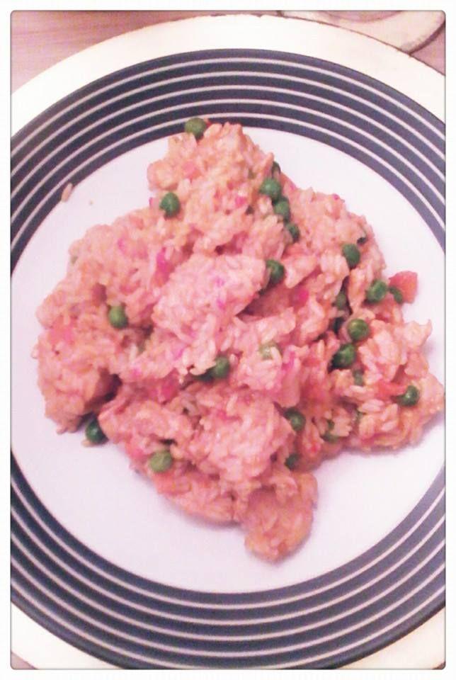 chicken & chorizo paella minus the chorizo!  lol #jamieoliver