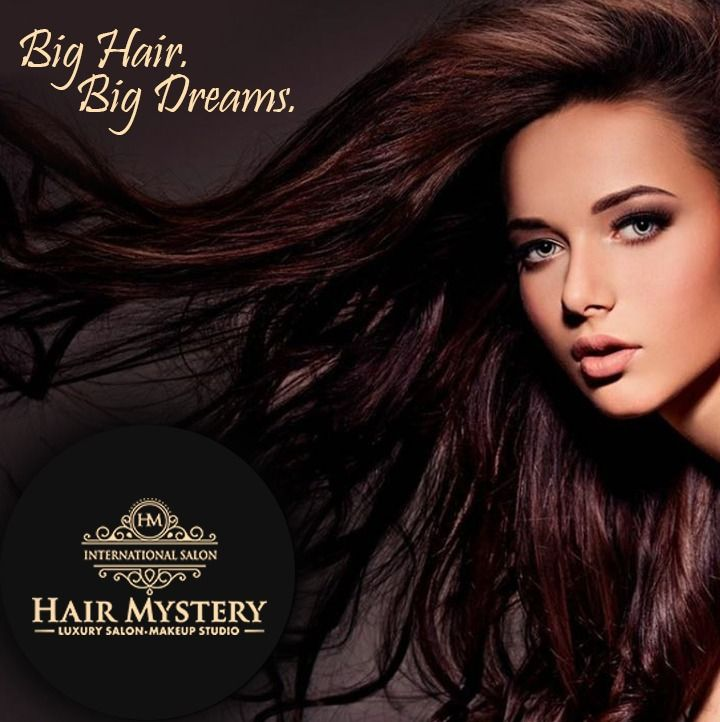 Improve Your Selfies See Your Stylists. Visit Hair Mystery Luxury Salon For The Best Of Hair Service By our Professional Stylists To Rule The World With Good hair Days.  #hairservices #beautyservices #professionalartists ##bighair #hairgoals #makeovers #makeups #styling #haircolor #curlyhair #smoothening #straightening #partymakeup #bridalmakeup