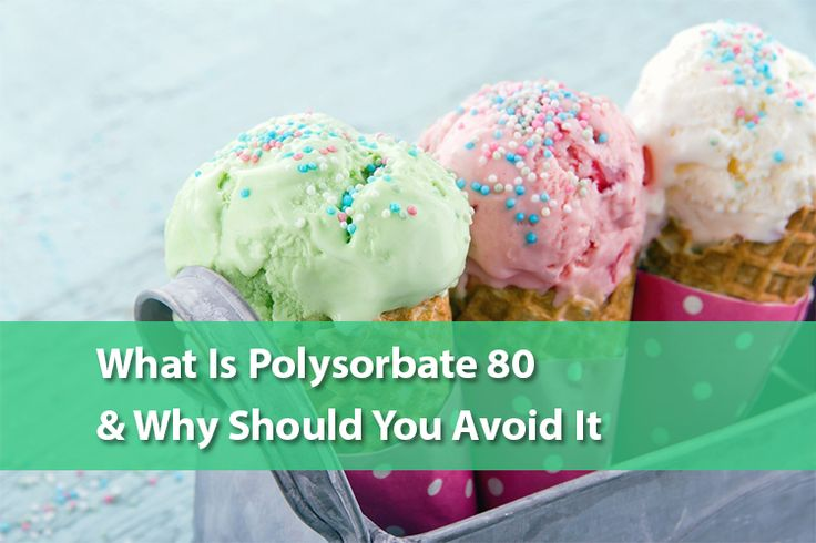 What Is Polysorbate 80 And Why Should You Avoid It? – Page 2 – The Good Human