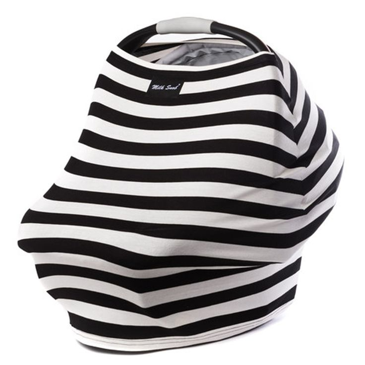 The Milk Snob Cover is the original fitted infant car seat cover that can also be used as a nursing cover. Available in bold prints and made from the softest of fabrics, this will instantly become one  My Mommy really likes thishttp://www.travelsystemsprams.com/