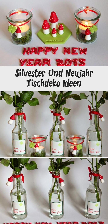 Silvester Und Neujahr Tischdeko Ideen - Pinokyo in 2020 ...