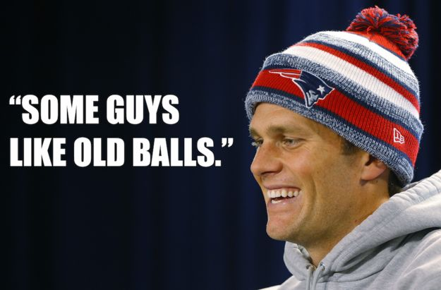 The Best Of Tom Brady's Unintentional Ball Innuendo At His Deflategate Press Conference