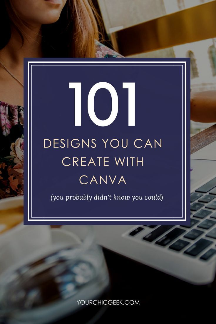 Sharing a list of 101 Canva Graphic Design Ideas and Canva Tips for Bloggers, Small Businesses and Creatives. #graphicdesign