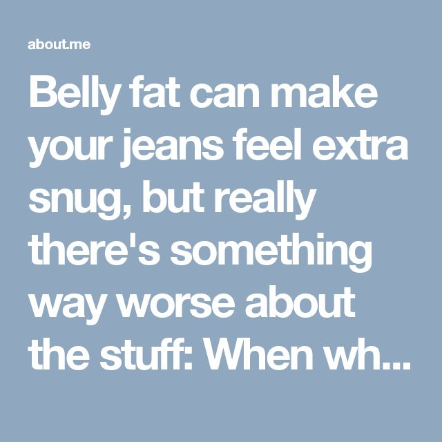 Belly fat can make your jeans feel extra snug, but really there's something way worse about the stuff: When white fat expands in your abdomen nestling deep among your organs, it sets you up for some serious health trouble. Visit our given link for the for your solutions. #AboutMe #HelpLosingStomachFat