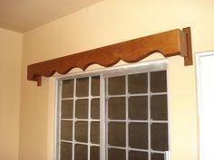 cortineros de madera tallados - Buscar con Google