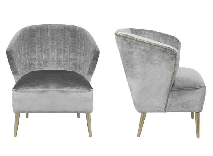 Nuka Arm Chair - Contemporary Mid-Century Design by BRABBU | Velvet Chair Design | Living Room Chairs. Upholstered Chairs. Velvet Armchair. #modernchairs #livingroomideas #bedroomdesign Find more inspiration at: https://www.brabbu.com/en/inspiration-and-ideas/interior-design/neutral-upholstered-chairs-sophisticated-home-decor